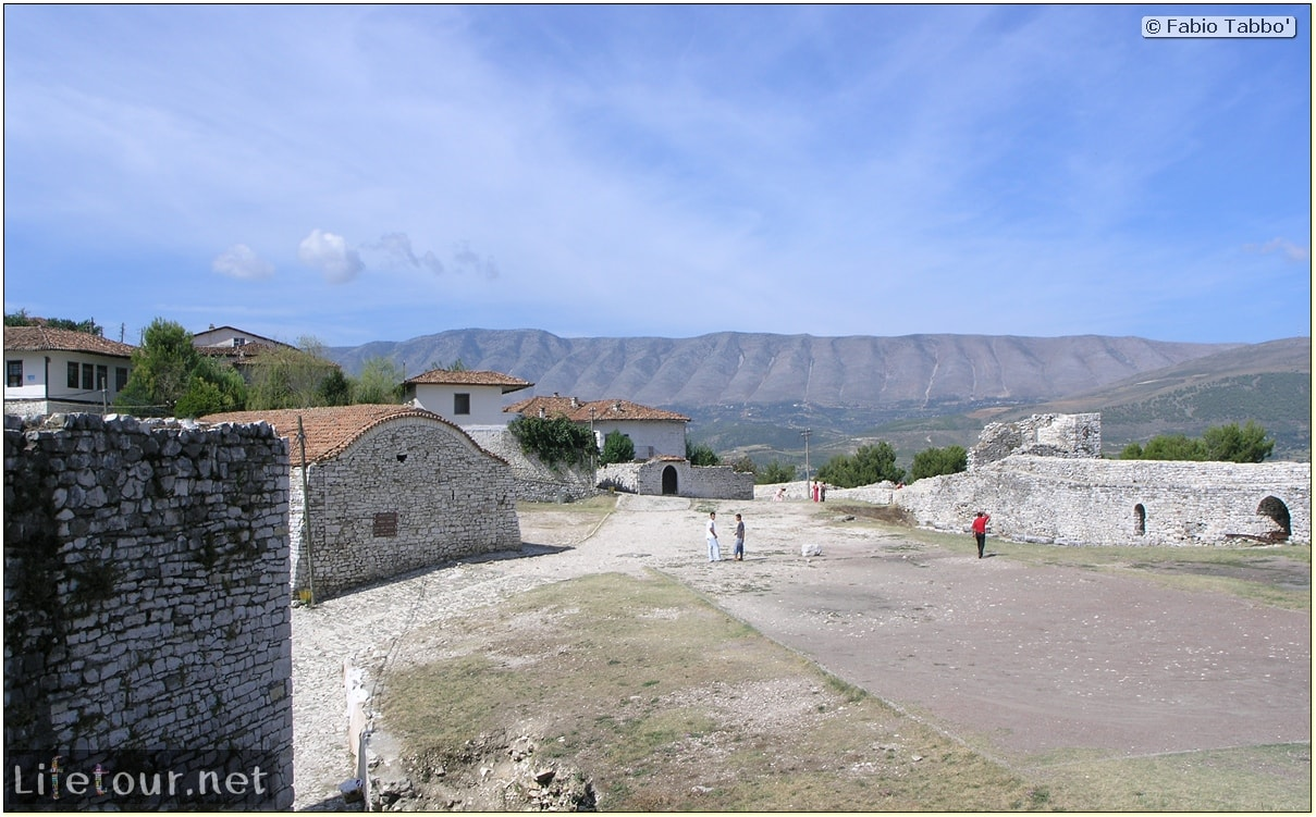 Fabio's LifeTour - Albania (2005 August) - Berat - Berat Castle - 20011