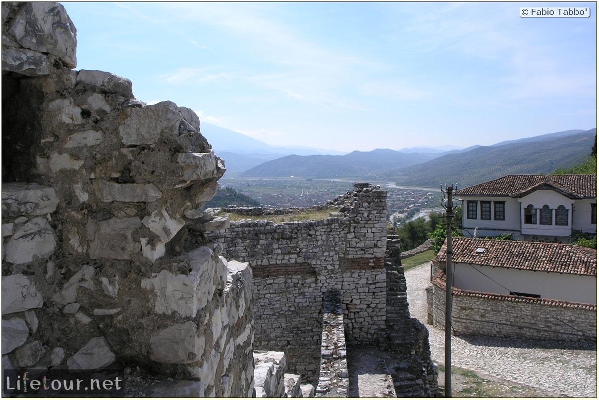 Fabio's LifeTour - Albania (2005 August) - Berat - Berat Castle - 20015