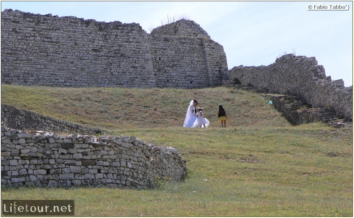 Fabio's LifeTour - Albania (2005 August) - Berat - Berat Castle - 20021