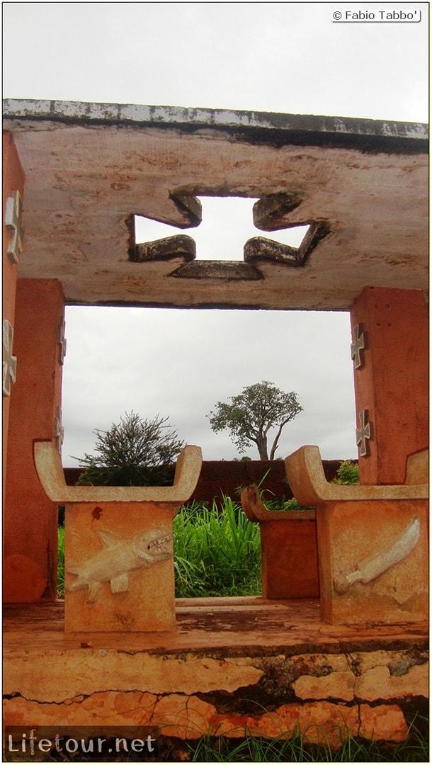 Fabio's LifeTour - Benin (2013 May) - Abomey - Royal Palace - 1570