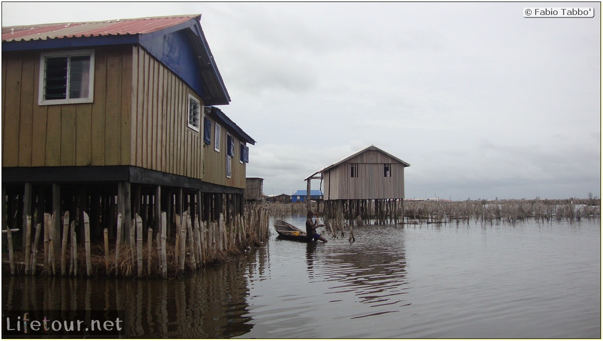 Fabio's LifeTour - Benin (2013 May) - Ganvie floating village - 1482