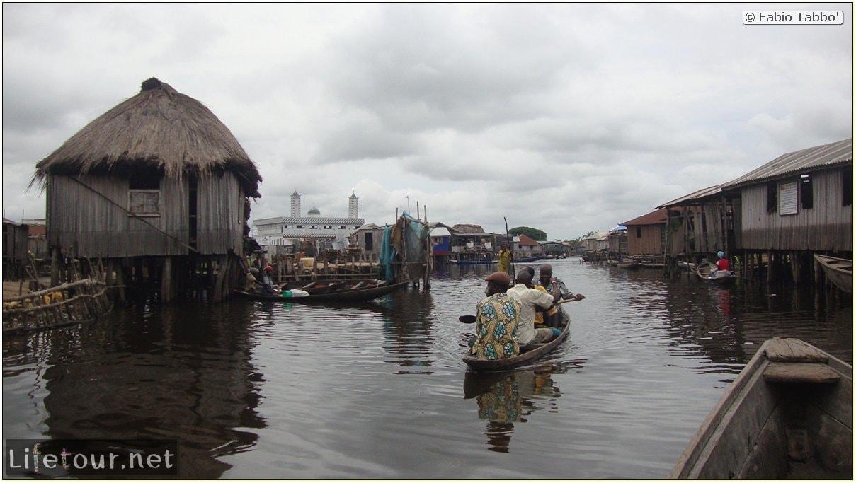 Fabio's LifeTour - Benin (2013 May) - Ganvie floating village - 1489 cover