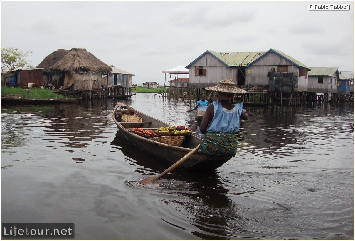 Fabio's LifeTour - Benin (2013 May) - Ganvie floating village - 1493 cover