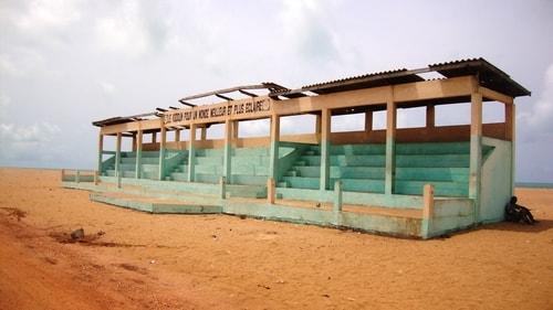 Fabio's LifeTour - Benin (2013 May) - Grand Popo - Comptoirs Coloniaux de Gbecon (ghost town) - 1411 cover