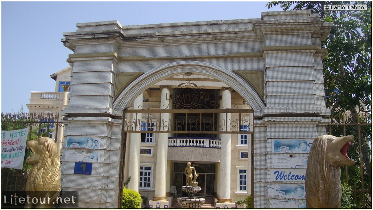Fabio's LifeTour - Benin (2013 May) - Porto Novo - Palace Hotel - 1538 cover