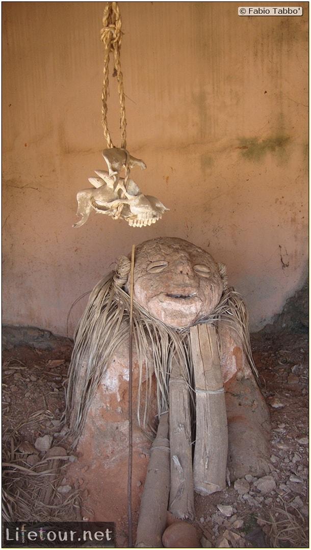 Fabio's LifeTour - Benin (2013 May) - Porto Novo - Voodoo temples - 1527 cover