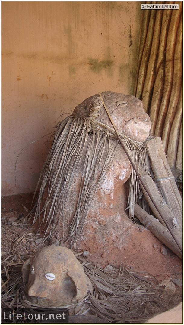 Fabio's LifeTour - Benin (2013 May) - Porto Novo - Voodoo temples - 1528