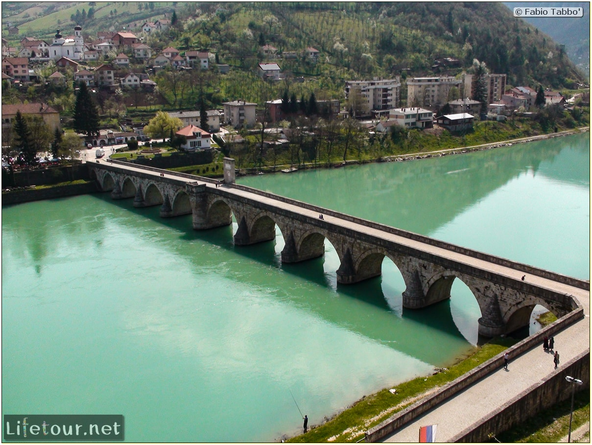Fabio's LifeTour - Bosnia and Herzegovina (1984 and 2009) - Drina (Visegrad) - 197edited