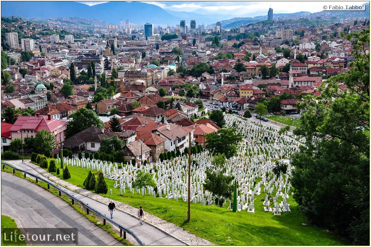 Fabio's LifeTour - Bosnia and Herzegovina (1984 and 2009) - Sarajevo - 19612 cover-Editedited