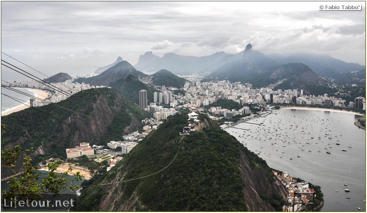 Brazil (2015) - Rio De Janeiro - Trilha Do P¦o De Açúcar - 4- on top of the mountain - 8889