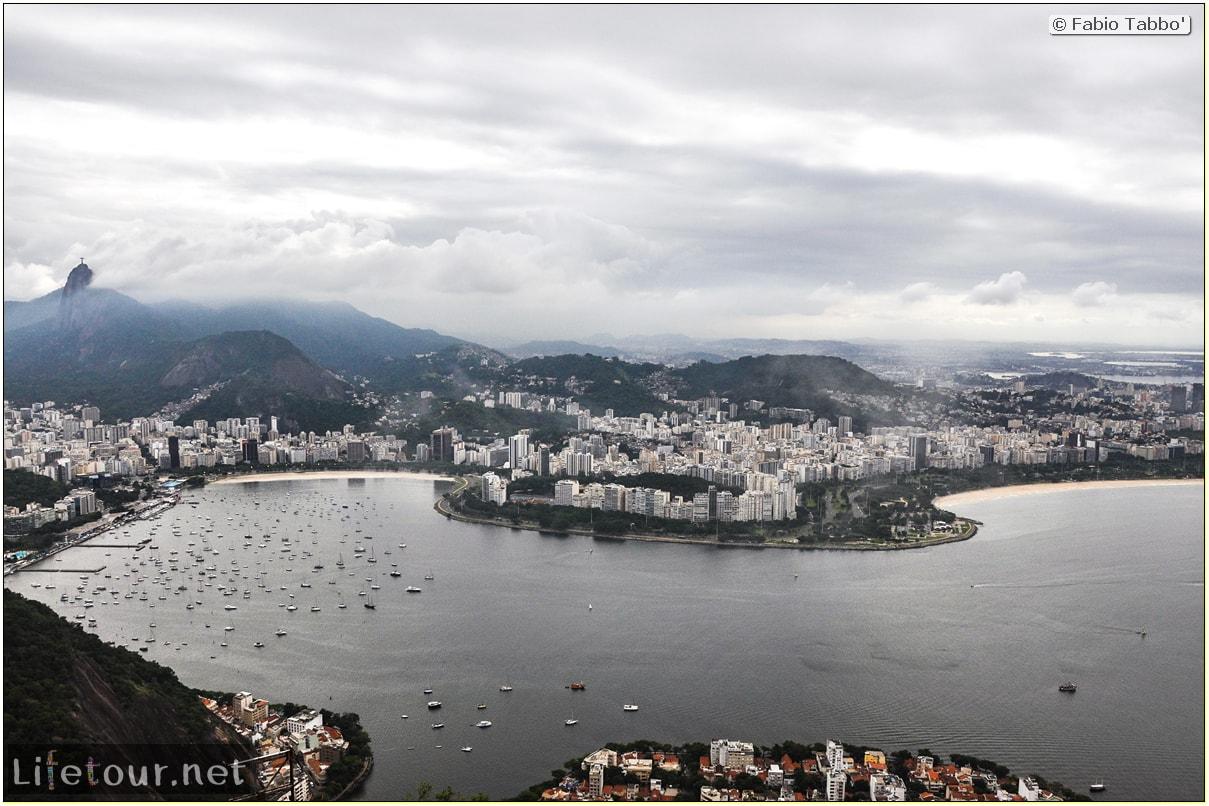 Brazil (2015) - Rio De Janeiro - Trilha Do P¦o De Açúcar - 4- on top of the mountain - 8979