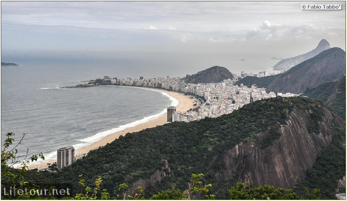 Brazil (2015) - Rio De Janeiro - Trilha Do P¦o De Açúcar - 4- on top of the mountain - 9217