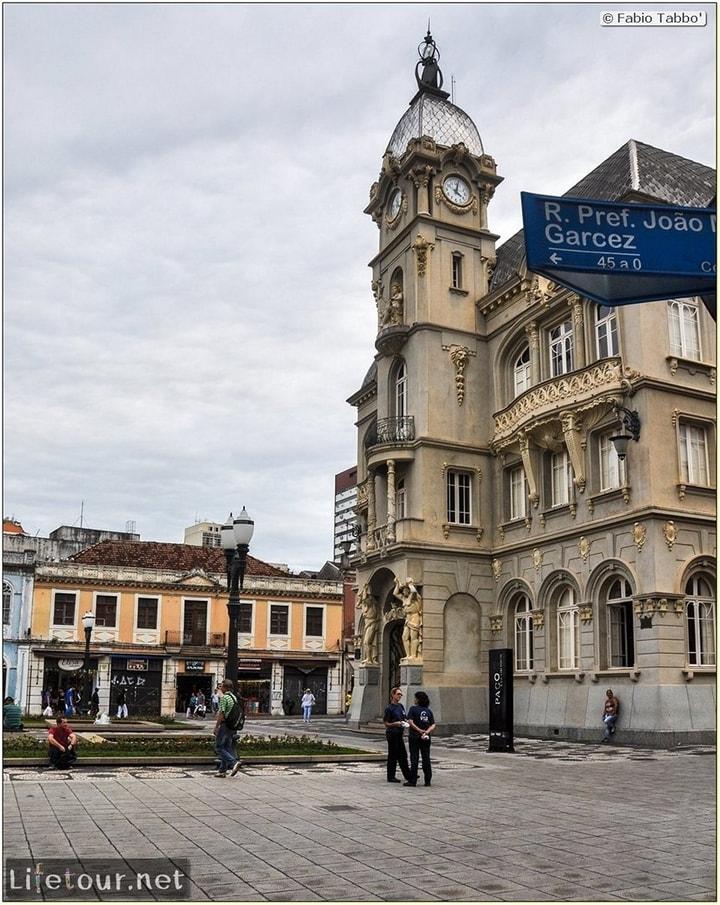 Curitiba - Historical center - Praça generoso marques and Catedral Metropolitana - 786