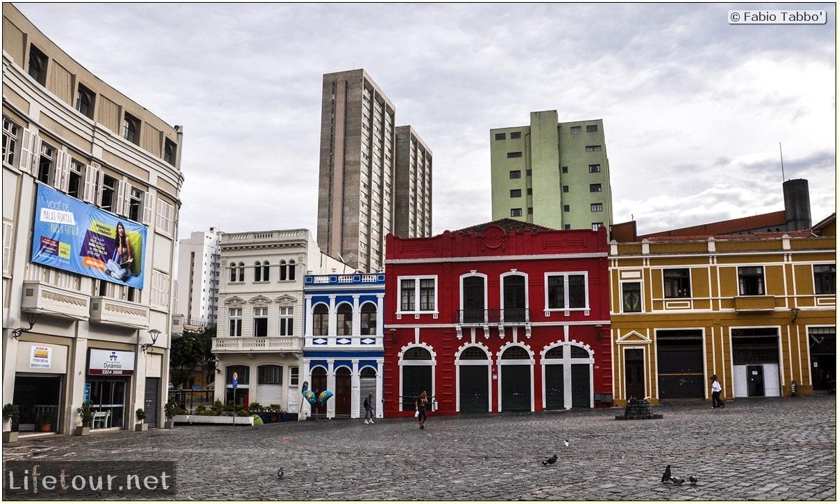 Curitiba - Historical center - Praça generoso marques and Catedral Metropolitana - 800