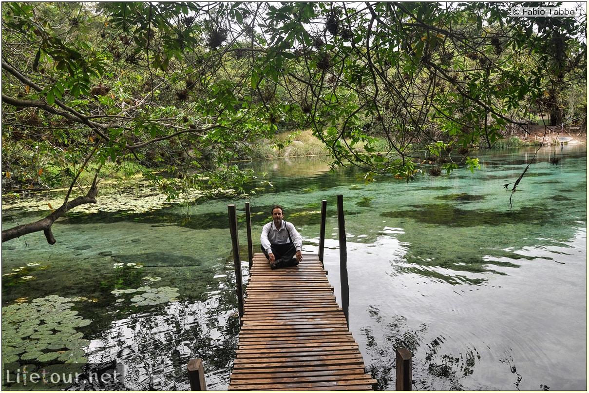 Fabio's LifeTour - Brazil (2015 April-June and October) - Chapada Diamantina - National Park - 3- Pratinha Grotto and lagoon - 9528 cover