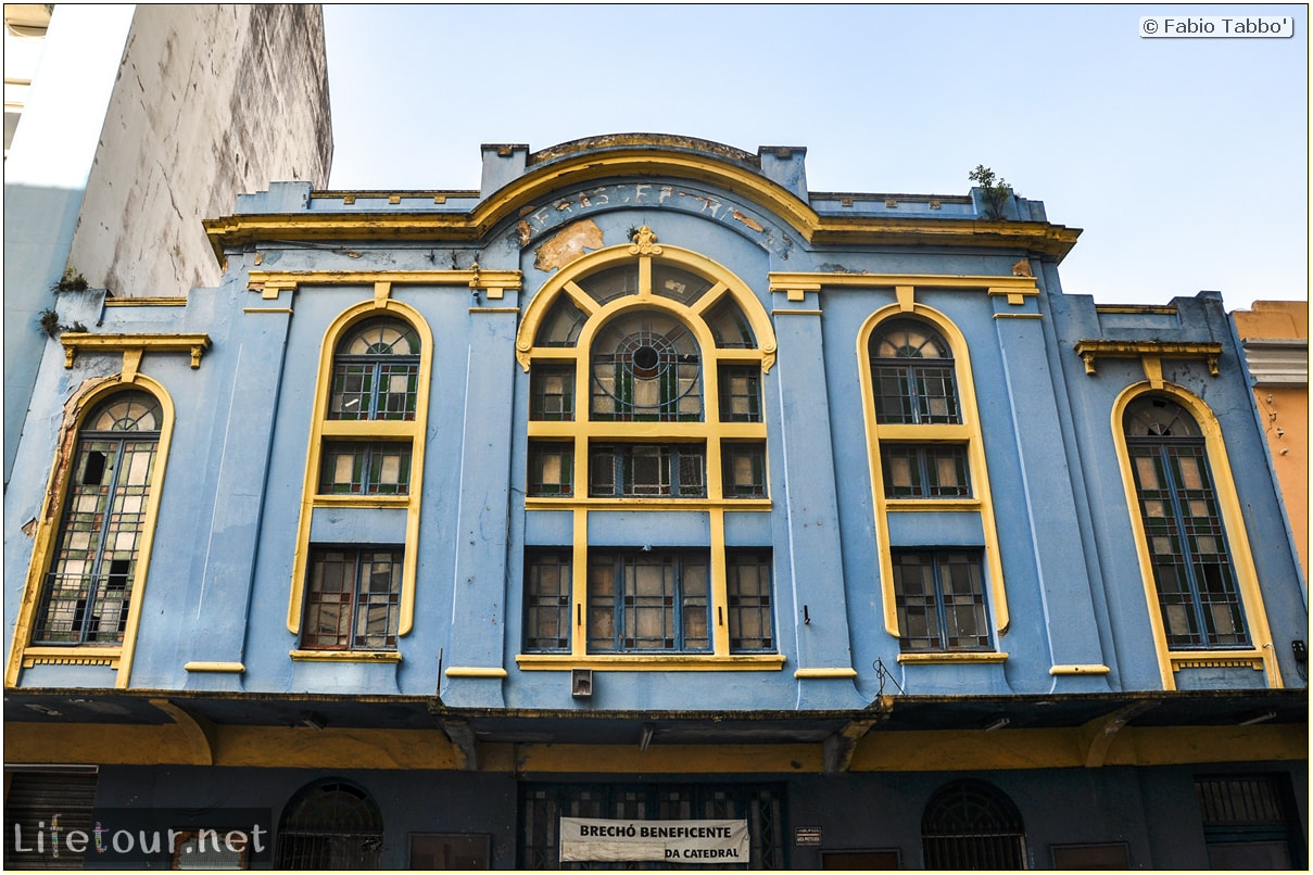 Fabio's LifeTour - Brazil (2015 April-June and October) - Florianopolis - Historical center - 5003