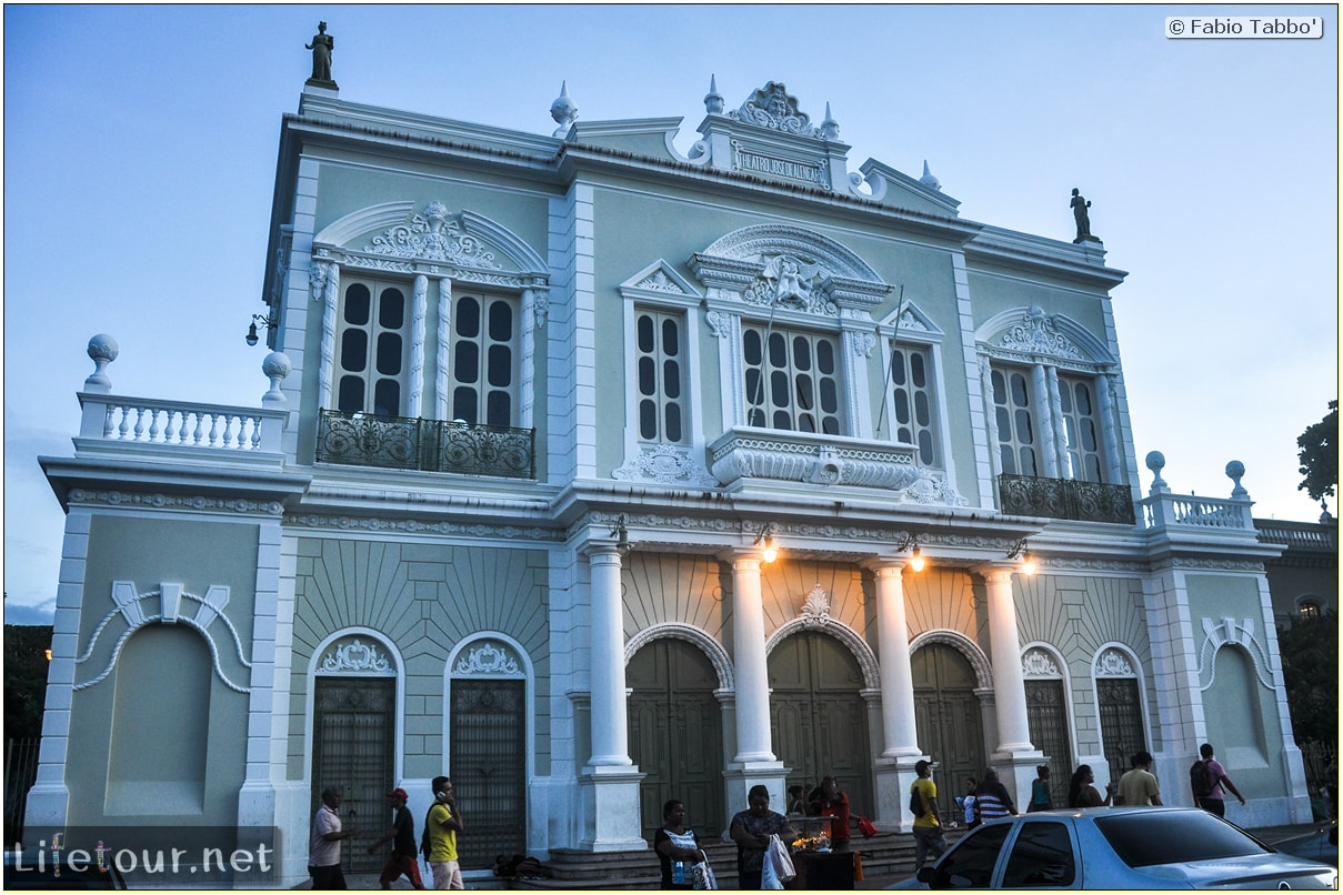 Fabio's LifeTour - Brazil (2015 April-June and October) - Fortaleza - city center - Theatro Jose de Alencar - 4490 cover