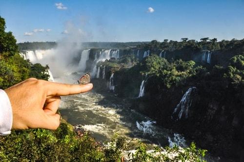 Fabio's LifeTour - Brazil (2015 April-June and October) - Iguazu falls - The butterflies - 6491 cover