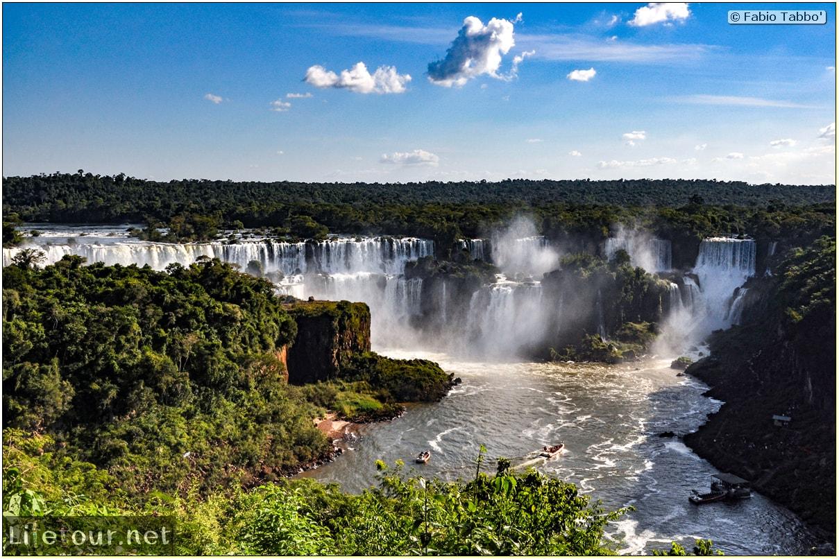 Fabio's LifeTour - Brazil (2015 April-June and October) - Iguazu falls - The falls - 4489