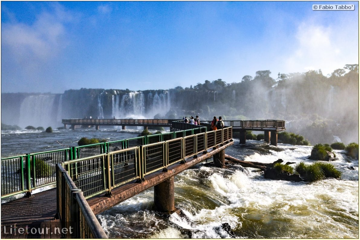 Fabio's LifeTour - Brazil (2015 April-June and October) - Iguazu falls - The falls - 8027