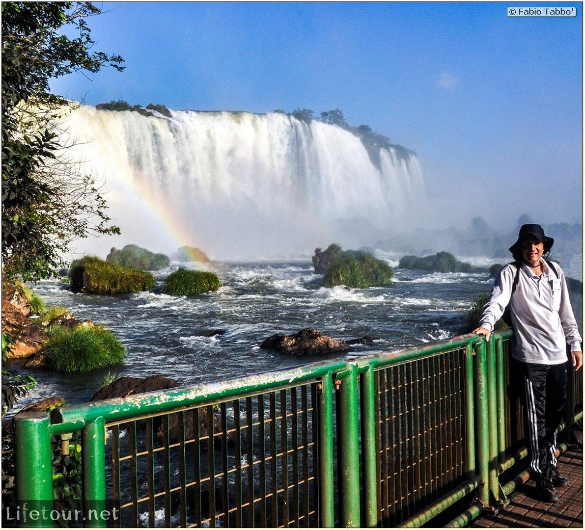 Fabio's LifeTour - Brazil (2015 April-June and October) - Iguazu falls - The falls - 8143 cover