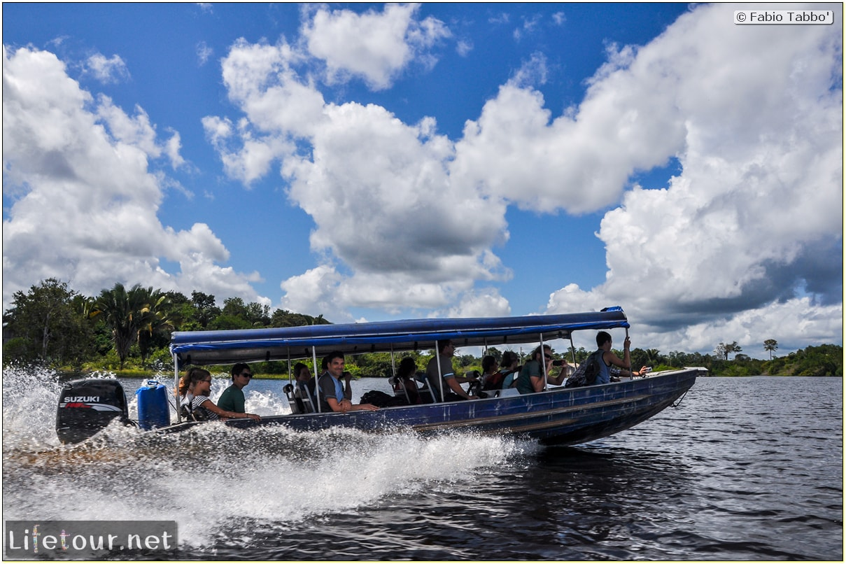 Fabio's LifeTour - Brazil (2015 April-June and October) - Manaus - Amazon Jungle - Driving a motorboat on the Amazon river - 10747 cover