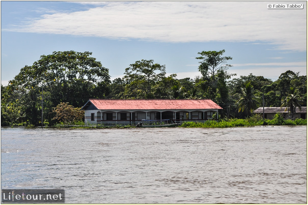 Fabio's LifeTour - Brazil (2015 April-June and October) - Manaus - Amazon Jungle - Driving a motorboat on the Amazon river - 9290
