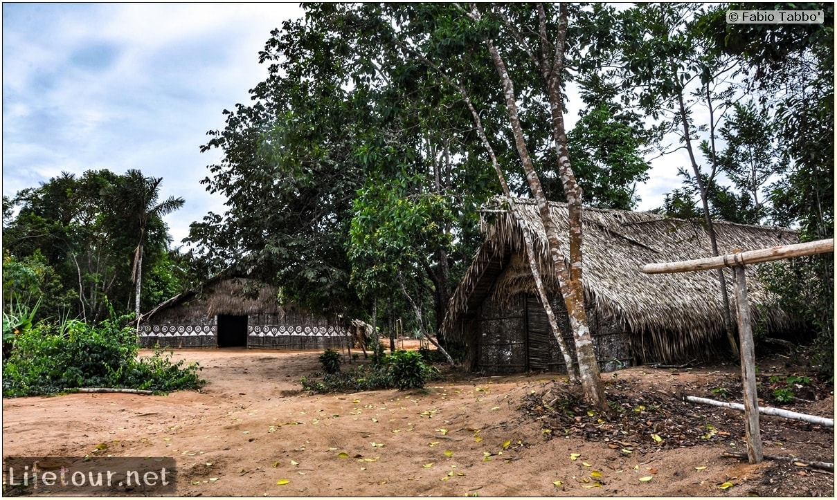Fabio's LifeTour - Brazil (2015 April-June and October) - Manaus - Amazon Jungle - Indios village - 1- The village - 6276
