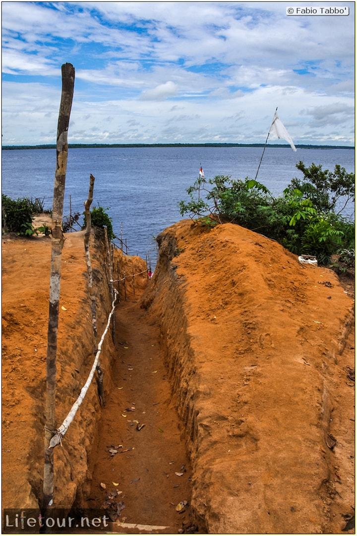 Fabio's LifeTour - Brazil (2015 April-June and October) - Manaus - Amazon Jungle - Indios village - 1- The village - 6423
