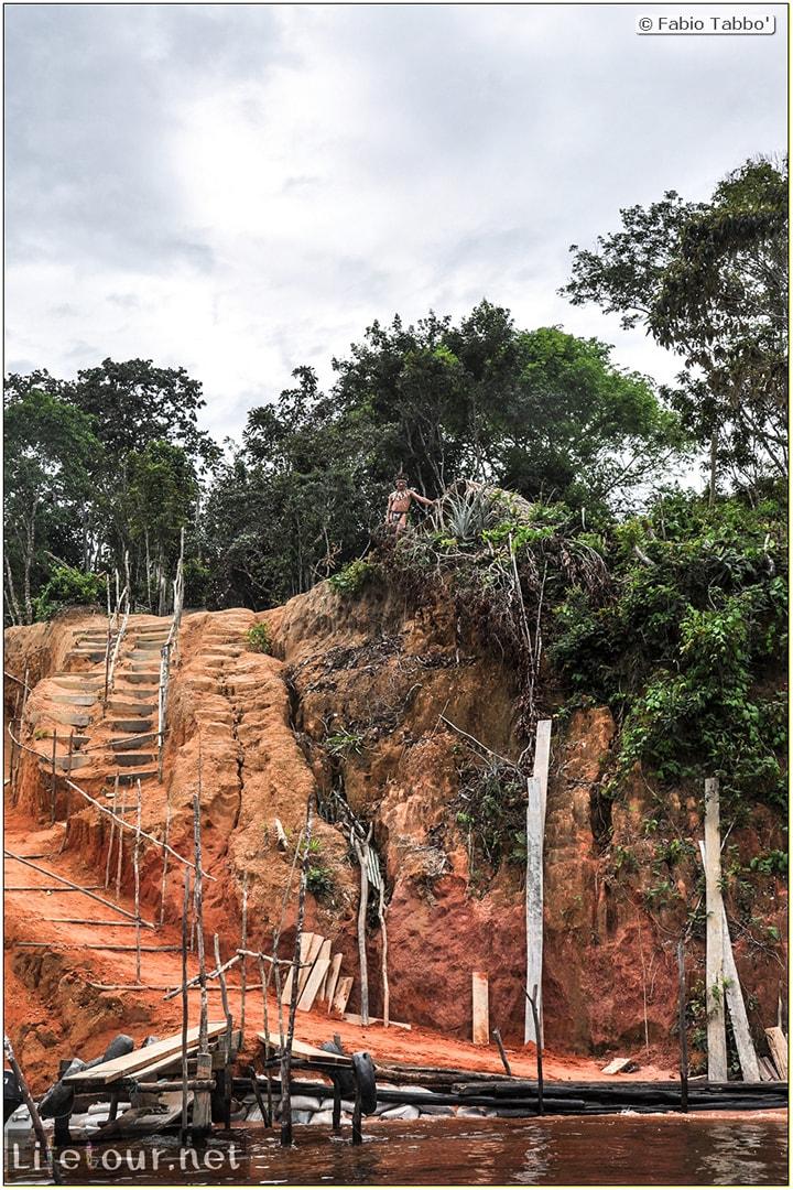 Fabio's LifeTour - Brazil (2015 April-June and October) - Manaus - Amazon Jungle - Indios village - 1- The village - 9554