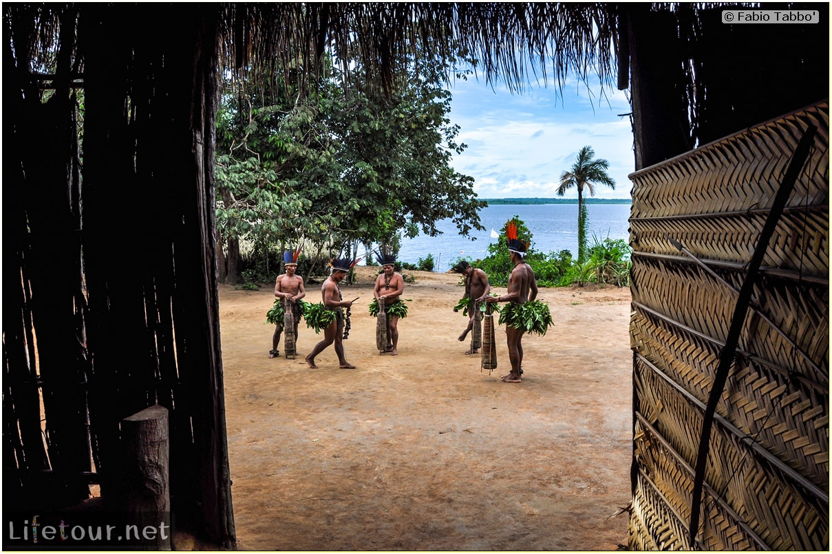 Fabio's LifeTour - Brazil (2015 April-June and October) - Manaus - Amazon Jungle - Indios village - 2- ceremonial dancing - 7677 cover