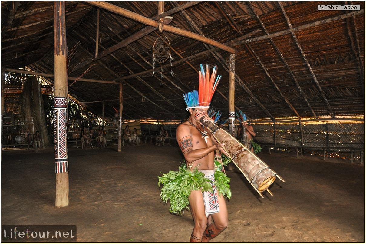 Fabio's LifeTour - Brazil (2015 April-June and October) - Manaus - Amazon Jungle - Indios village - 2- ceremonial dancing - 8026 cover