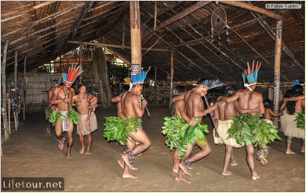 Fabio's LifeTour - Brazil (2015 April-June and October) - Manaus - Amazon Jungle - Indios village - 2- ceremonial dancing - 8282 cover