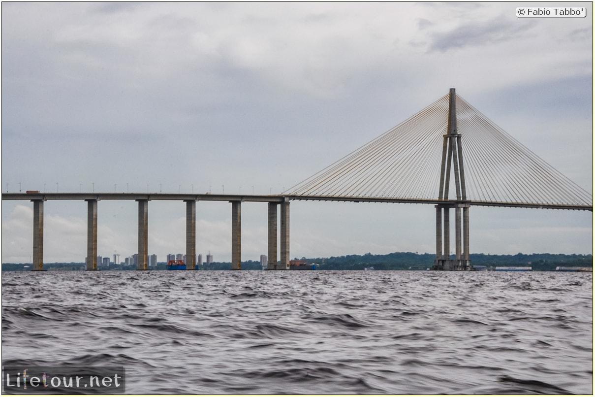 Fabio's LifeTour - Brazil (2015 April-June and October) - Manaus - Amazon Jungle - Manaus bridge - 2174