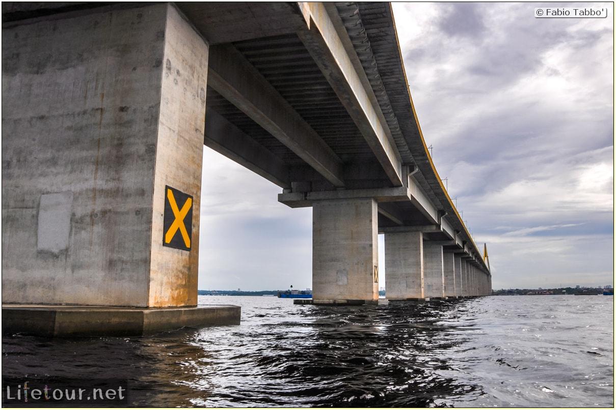 Fabio's LifeTour - Brazil (2015 April-June and October) - Manaus - Amazon Jungle - Manaus bridge - 2730