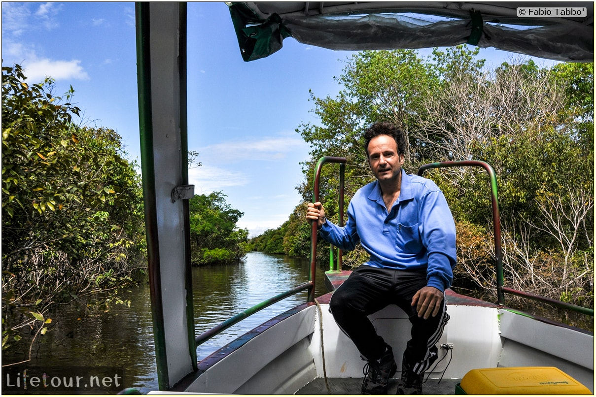 Fabio's LifeTour - Brazil (2015 April-June and October) - Manaus - Amazon Jungle - Parque do Janauary - 1-trip (Rio Solimoes) - 10591