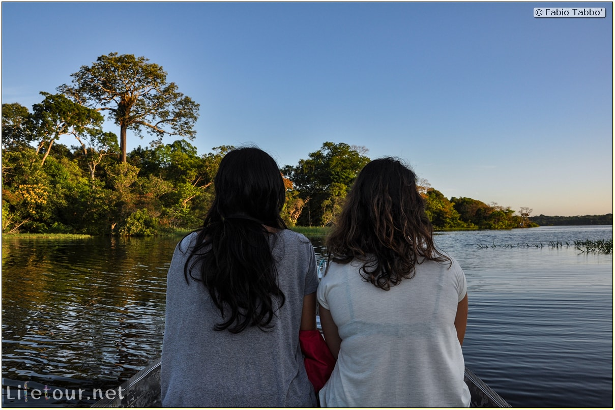 Fabio's LifeTour - Brazil (2015 April-June and October) - Manaus - Amazon Jungle - Sunrise on the Amazon - 10642 cover