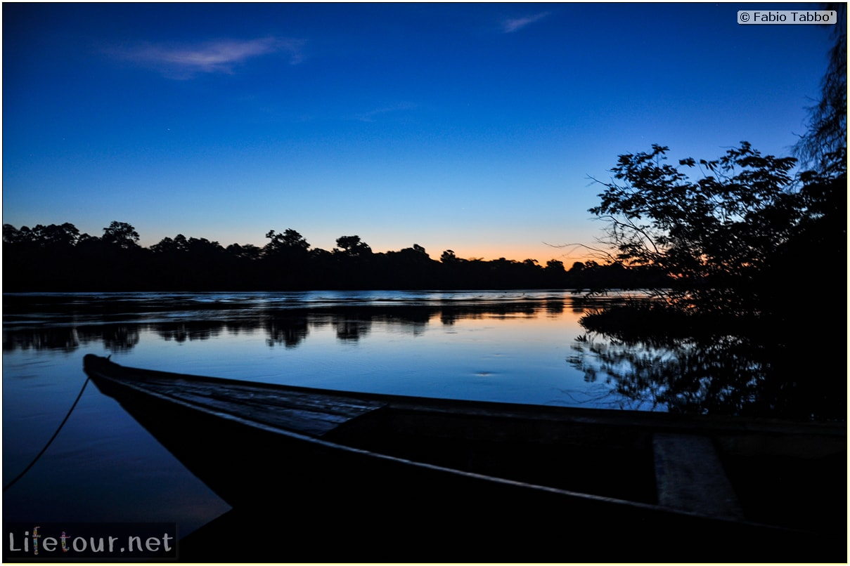 Fabio's LifeTour - Brazil (2015 April-June and October) - Manaus - Amazon Jungle - Sunrise on the Amazon - 8730