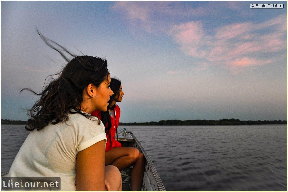 Fabio's LifeTour - Brazil (2015 April-June and October) - Manaus - Amazon Jungle - Sunrise on the Amazon - 9552 cover
