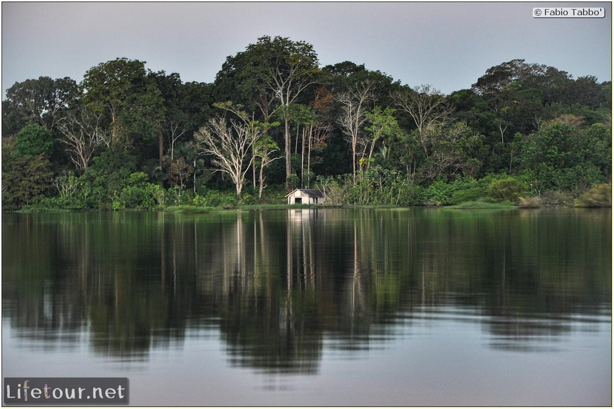 Fabio's LifeTour - Brazil (2015 April-June and October) - Manaus - Amazon Jungle - Sunrise on the Amazon - 9715