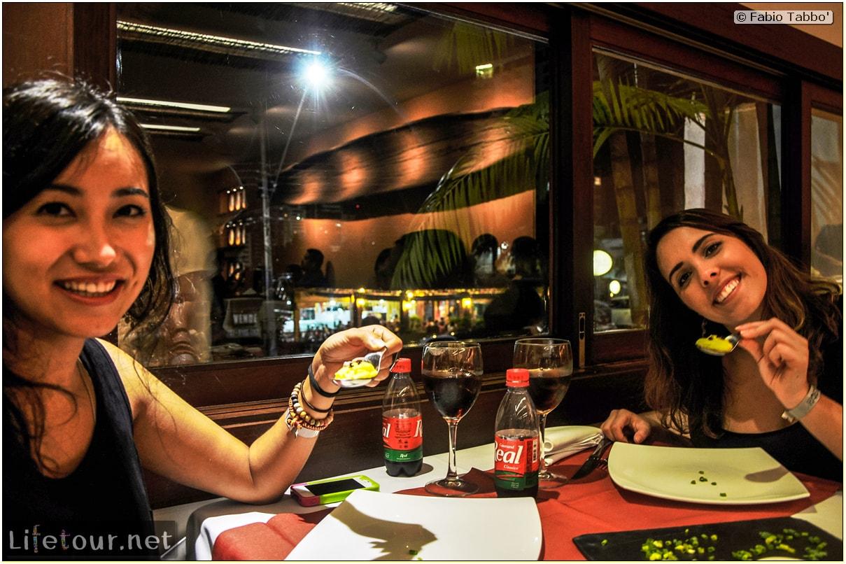 Fabio's LifeTour - Brazil (2015 April-June and October) - Manaus - City - Banzeiros restaurant - 11461 cover