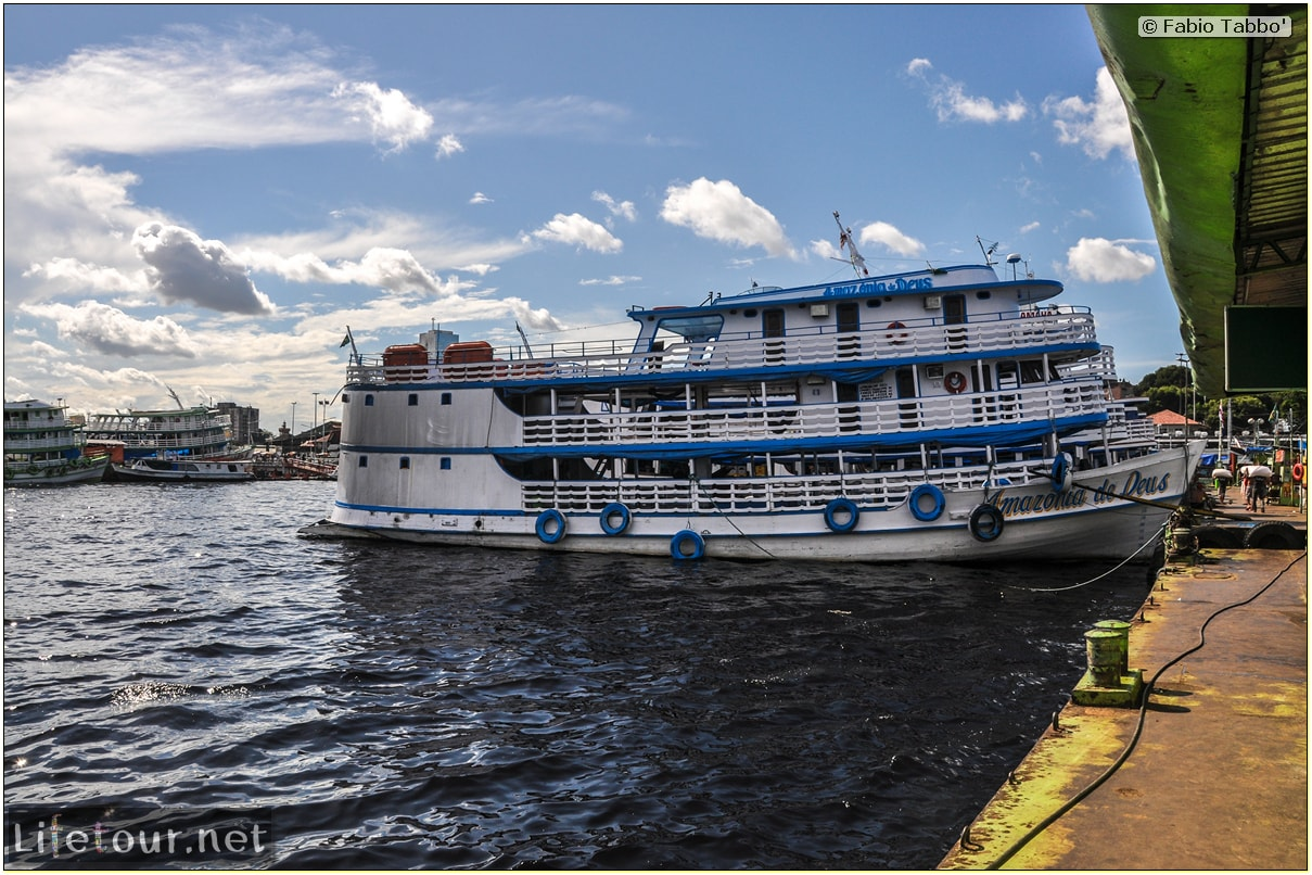 Fabio's LifeTour - Brazil (2015 April-June and October) - Manaus - City - Manaus Port - 7007