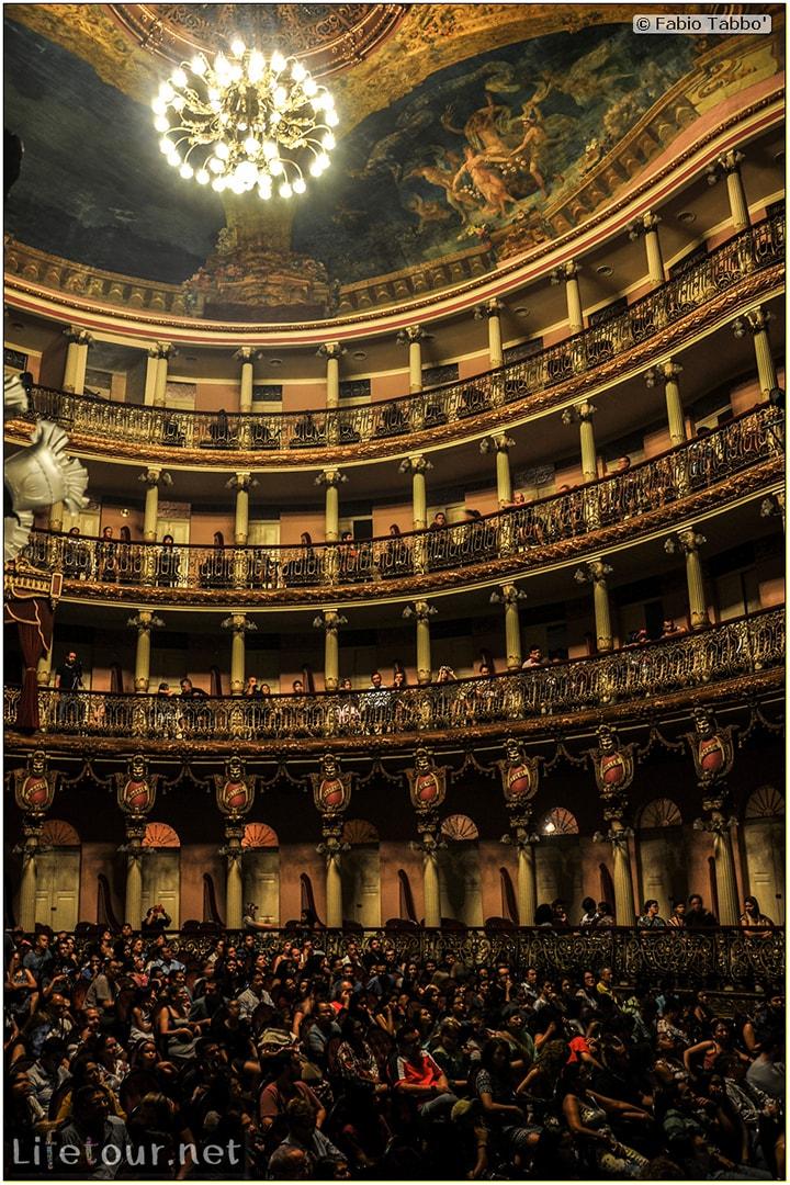 Fabio's LifeTour - Brazil (2015 April-June and October) - Manaus - City - Teatro Amazonas - Medieval music show - 2231