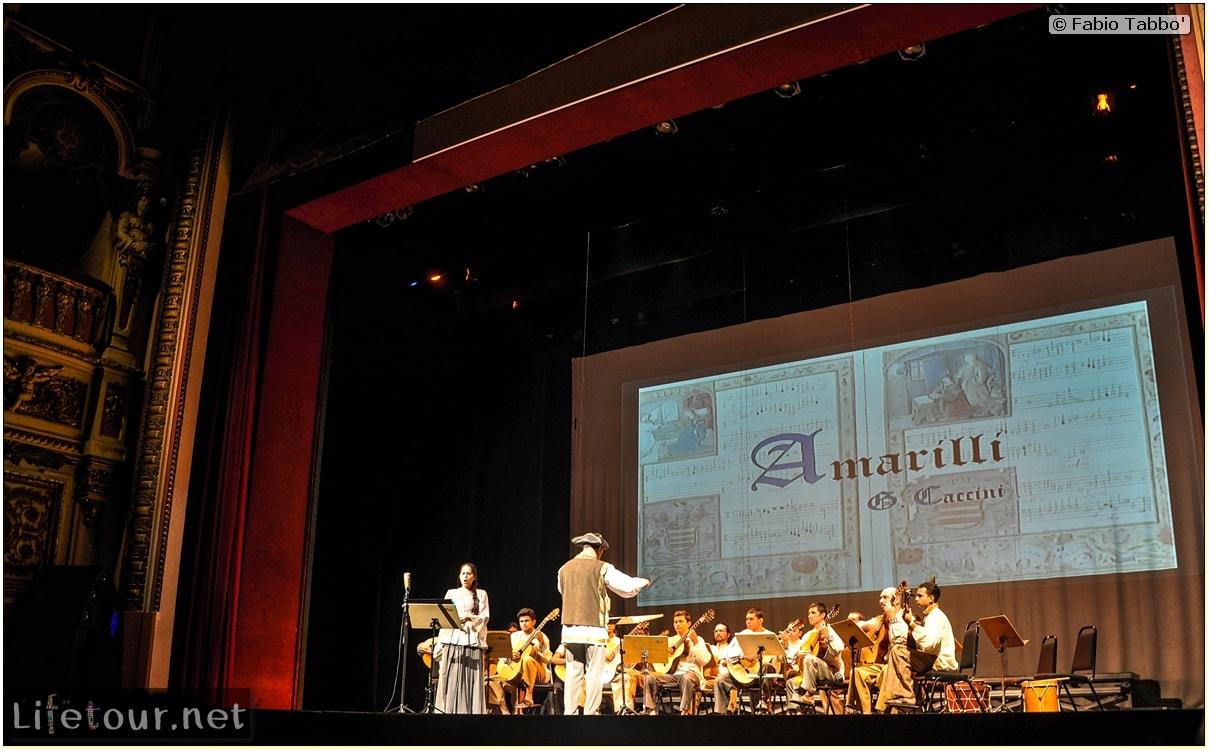 Fabio's LifeTour - Brazil (2015 April-June and October) - Manaus - City - Teatro Amazonas - Medieval music show - 3803