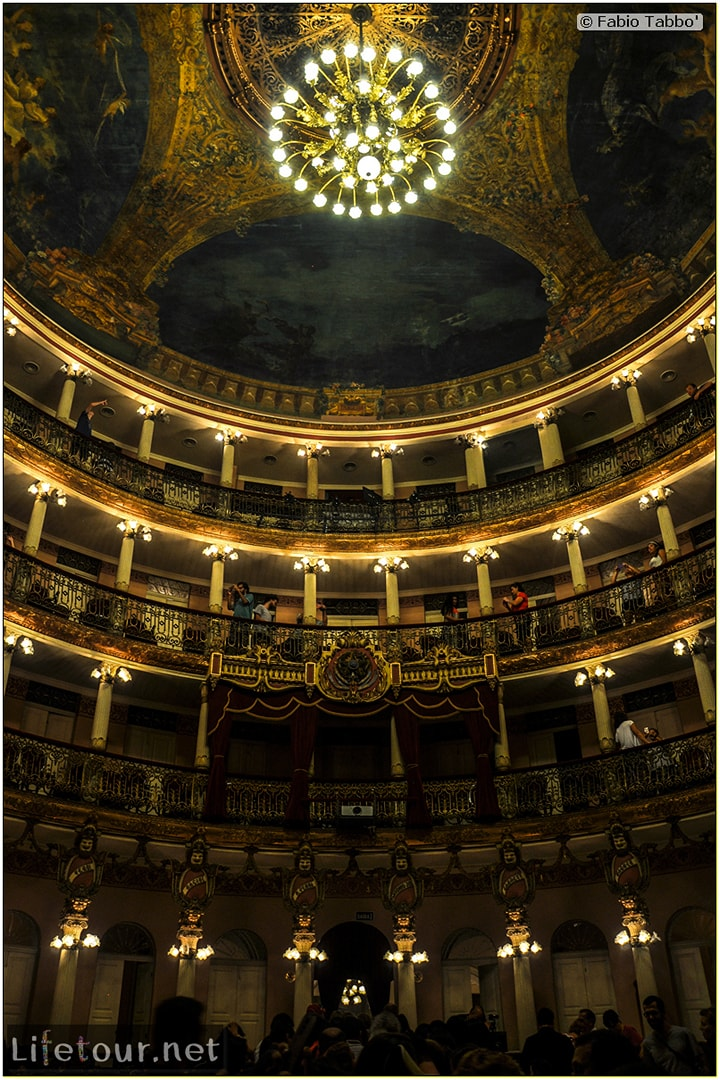 Fabio's LifeTour - Brazil (2015 April-June and October) - Manaus - City - Teatro Amazonas - Medieval music show - 5174