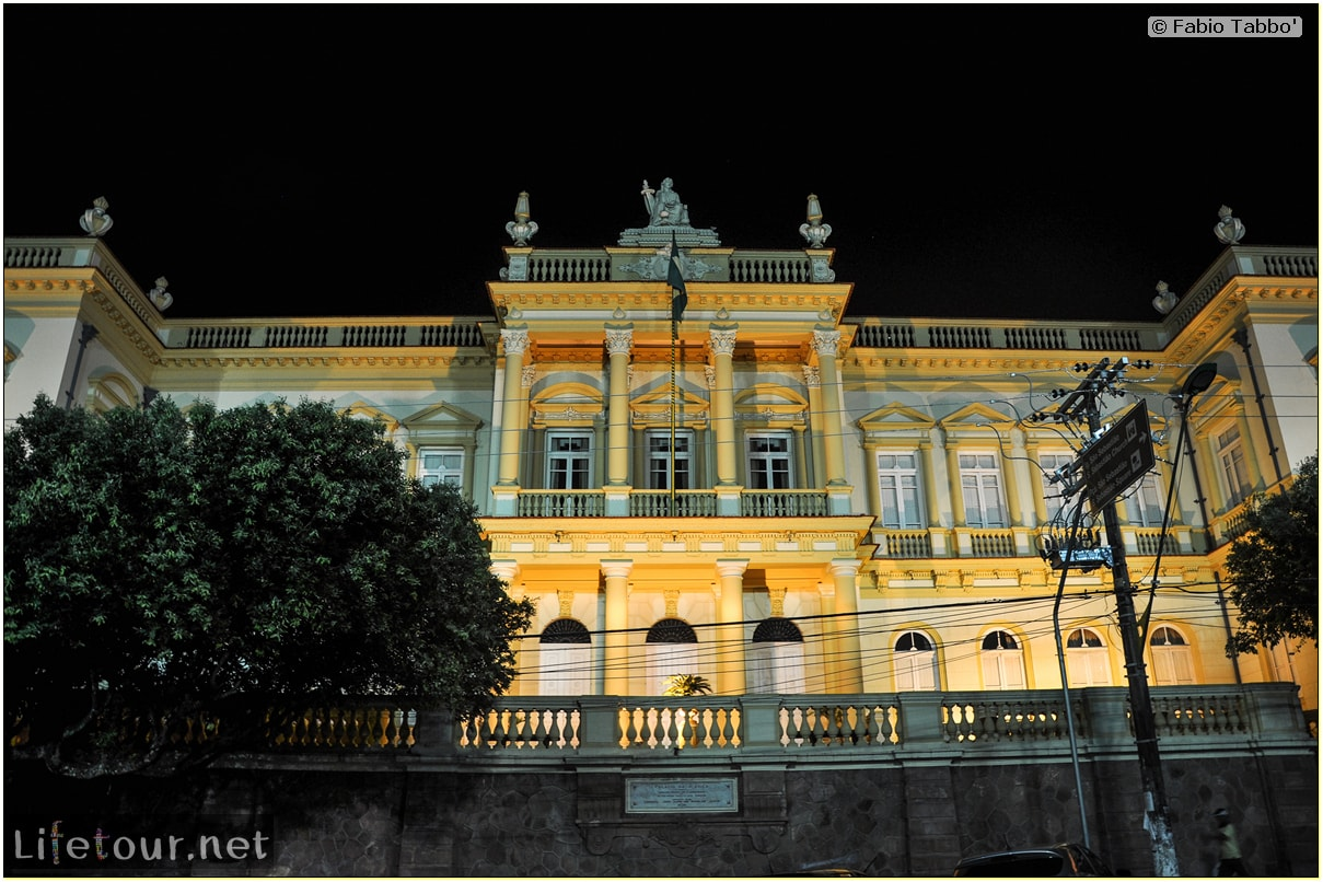 Fabio's LifeTour - Brazil (2015 April-June and October) - Manaus - City - Teatro Amazonas - exterior - 1628