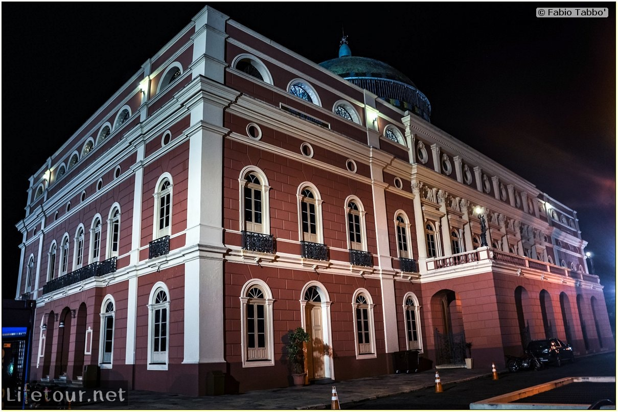 Fabio's LifeTour - Brazil (2015 April-June and October) - Manaus - City - Teatro Amazonas - exterior - 1897
