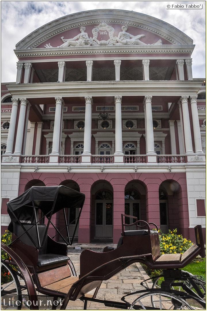 Fabio's LifeTour - Brazil (2015 April-June and October) - Manaus - City - Teatro Amazonas - exterior - 3856