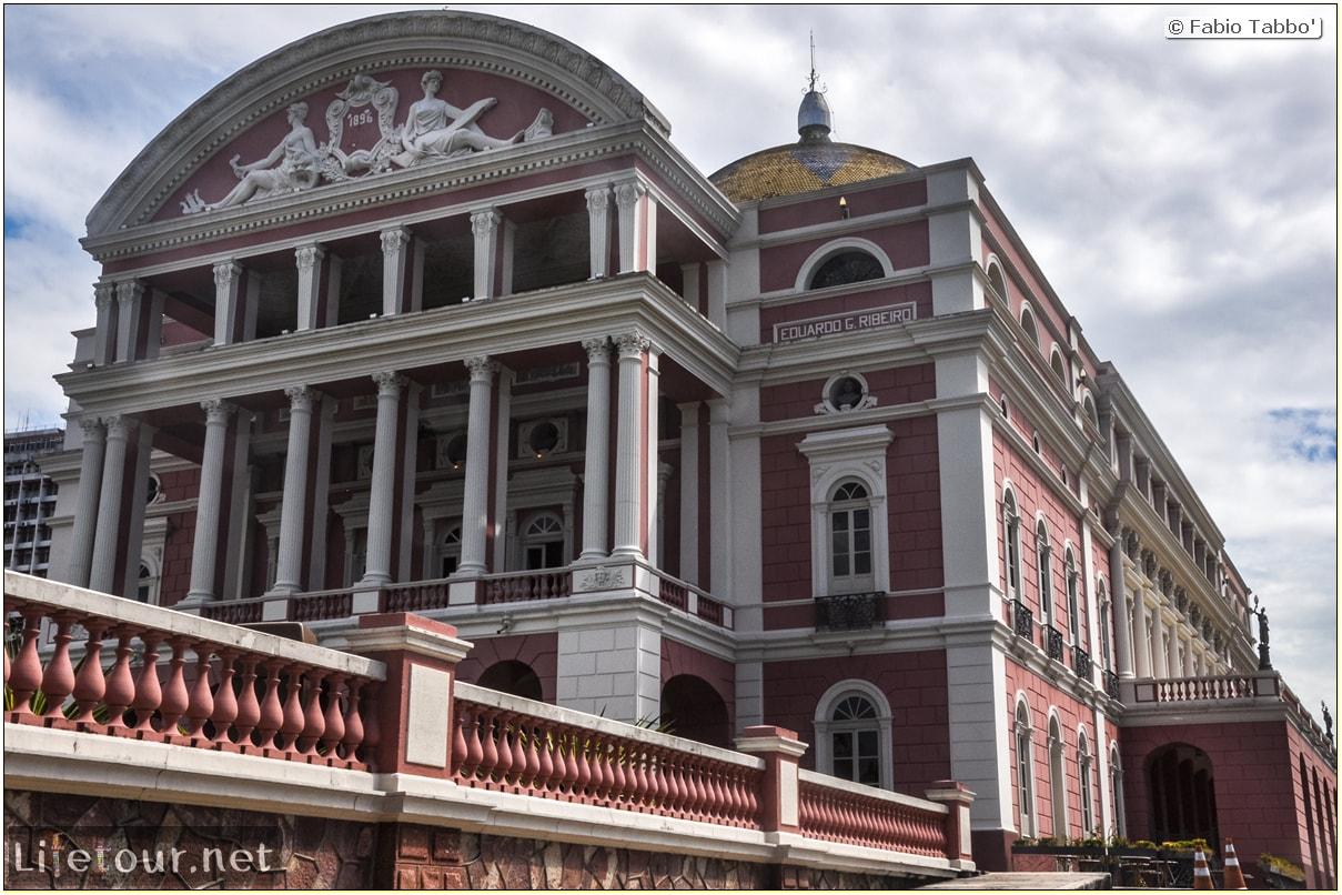 Fabio's LifeTour - Brazil (2015 April-June and October) - Manaus - City - Teatro Amazonas - exterior - 4008