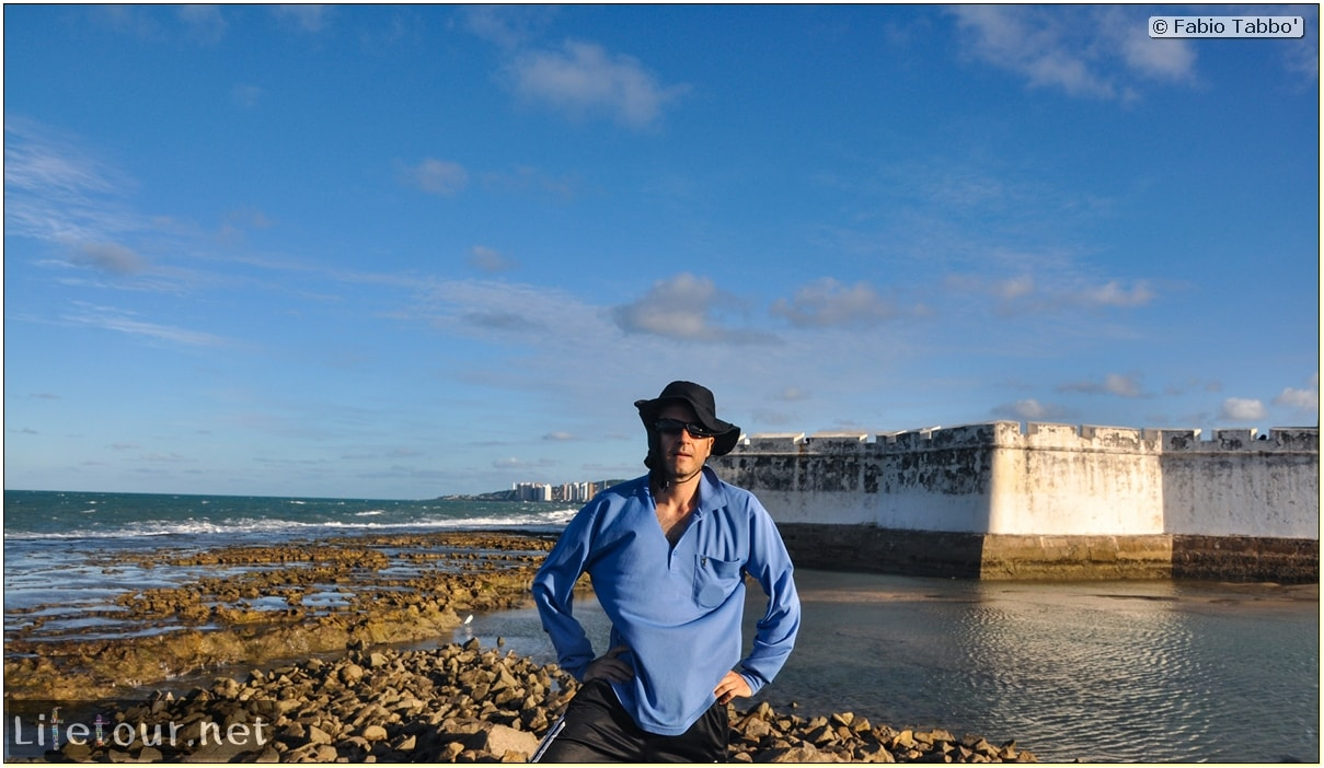 Fabio's LifeTour - Brazil (2015 April-June and October) - Natal - Fortaleza Dos Reis Magos - 8892